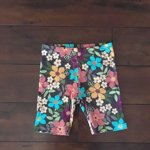 Gymboree girls Tropical Floral Shorts sz 8